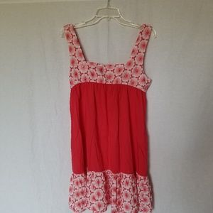 Anthropologie Eloise Floral Embroidered Sun Dress